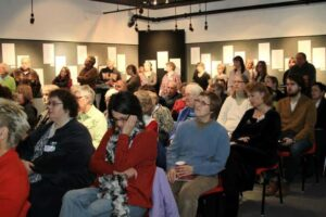 Book Launch Event at The Crossing Arts Alliance, Q Gallery January 26,2013