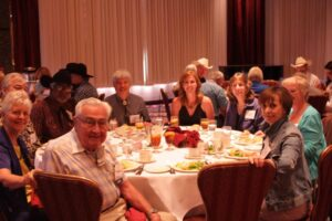 Spur Award Finalist Banquet with Authors Robert M. Utley, Cowboy Mike Searles, Bill Markley, Lucia St. Clair, Nancy Plain and Marcia Castle