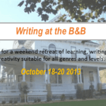 Writing Retreat at the Bed And Breakfast