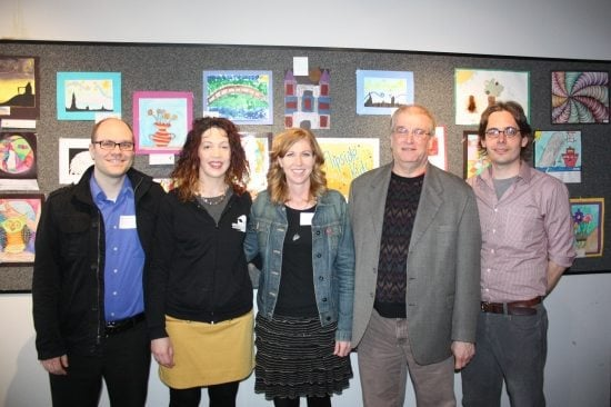 Steve Woodward (Graywolf Press), Dawn Frederick (Red Sofa Literary) Krista Rolfzen Soukup (Blue Cottage Agency) Jim Perlman (Holy Cow! Press), Erik Anderson (University of Minnesota Press)