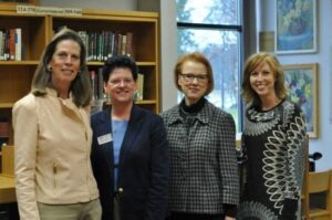 Karen Lindblad, Pam Thompson, Minnesota State Arts Board Executive Director Sue Gens and Krista Rolfzen Soukup