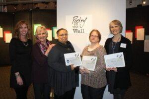 Krista Soukup, Norita Dittberner-Jax, Susan Smith-Grier, Laura Hansen, Donna Salli.  Not Pictured, Kathleen Krueger